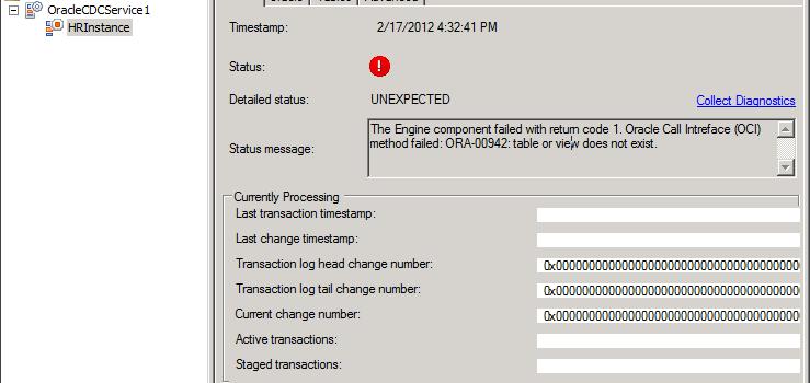 Erreurs : ORA-00942